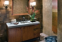 Accent walls and Wallcoverings