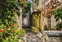 Alonissos island, Greece / Alonissos, is a Greek island in the Aegean Sea. After Skiathos and Skopelos it is the third member of the Northern Sporades. Alonissos is also the name of a village on the island, as well as the municipality that encompasses the island and the village.