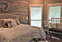Rustic Romantic Bedroom