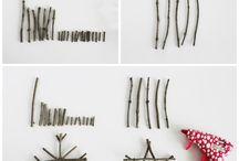 Twig  decorations