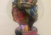 Didier Saba / Glaskunstenaar uit zuid Frankrijk. Objecten te koop bij de Serre in Maastricht Rechtstraat 53 6221 EG Maastricht