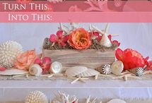 Marry time in the maritime / Are you tying the knot by the sea, on the sea, even in the sea?  This inspiration board is a great place to gather ideas.