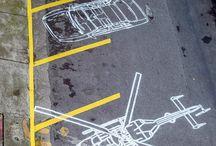 Parking a přechody