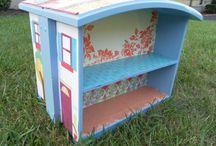 jouets enfants / maison poupee en tiroir