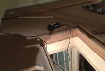 Loft Room In Carpet / Client: Private Residence In West London Brief: To supply & install carpet into new-built loft.