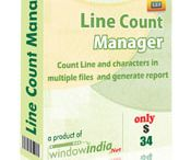 Line Count Software / If you are looking for the most professional and easy-to-use software for counting lines, the line count manager is the perfect choice. Owing to its speed, reliability and accuracy, it has been widely used by many translation and transcription industries. It is capable of supporting files of different formats and can be used in multiple files. It is very easily available over the internet for download.  It helps in saving a considerable amount of time and money.