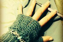 guanti di lana