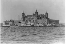 New York - Ellis Island / Many immigrants passed through the halls of Ellis Island, including several of my own family members. Here's a visual look at it's history.