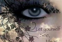 The EYE'S have it / See the world with open and loving eyes. / by Dr. Charla Hermann, D-Min