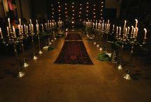 Caminho para altar