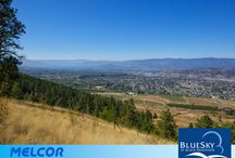 BlueSky at Black Mountain / The Highest Lots in Kelowna and with amazing trails.