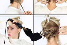 Beautiful Hair and Styling / This is a board full of beautiful hair we are envious of and pretty ways to style them!