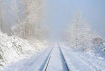 Kolejowa zima