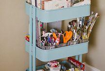 Art supplies & Storage