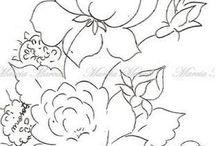 omalovánky- květiny