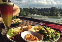 Ubud Indonesia organic restaurants / Organic foods