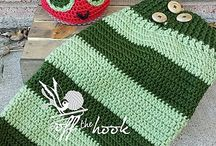 Crochet -The very hungry caterpillar !