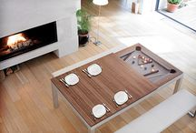 Fusion Pool Tables Thailand / This board is about the most amazing Dining Pool Tables, made in Belgium by Aramith. These tables convert in a few seconds from a very elegant and modern looking dining tables to a beautiful Pool Table offerings the best playability. These tables have a unique patented auto leveling system.