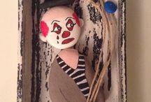 Cadre clown