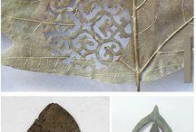 나뭇잎 아트