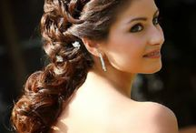 Hairstyles with gowns