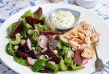 Beetroot Salads / Beetroot salads