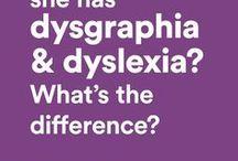 dyslexia or dysgraphia