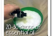 Household cleaners etc