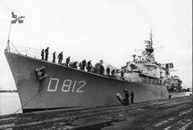 Nederlandse oorlogs schepen.