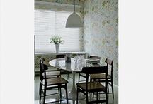 decoração de salas de jantar e almoço / by Eliani Mischiatti