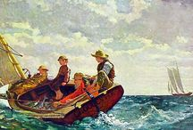 Winslow Homer and water
