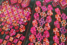 Syrian textile patterns