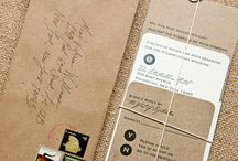 Stationery and Paper / cards, paper, writing utensils, notebooks, stamps / by Erika Halstead
