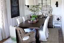 Florida| Tallahassee | Dining Rooms | Dining Inspiration! / Besides the Kitchen, we probably spend more time in the dining room than any other room in the house. Get some inspiration from these creative dining spaces courtesy of your Florida Neighbors.  #tallahasseedining  #diningrooms