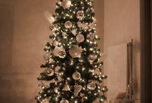Kerst / Kerstboom opgetuigd