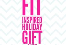 Holiday Fit-Inspired Gift Ideas / Gift ideas for fitness enthusiasts and those who are seeking support to live a healthier lifestyle.