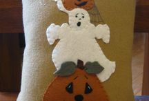 Halloween/Fall  cushions