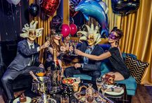 KARNAWAŁ/CARNIVAL 2015 / A carnival party photoshoot. Full of colors, drinks and beautiful interior designs. Let the party begin!