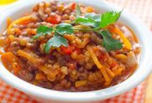 Spécial légumineuses / Fèves et haricots secs, lentilles et pois secs, vous trouverez ici toutes les recettes spécial légumineuses