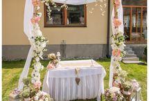 Svadba na záhrade