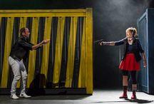Les Fourberies de Scapin / Photos autour du spectacle Les Fourberies de Scapin de Molière, mis en scène par Laurent Brethome joué du 07 au 11 Octobre au Théâtre de la Croix-Rousse.