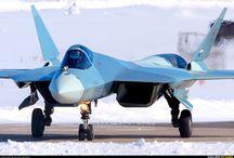 cazas de combate rusos