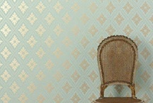 wallpaper and furniture