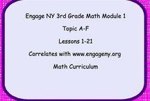 Eureka Math third grade / by Meredith Davis