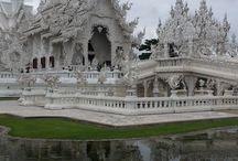 White temple Thailand / White Temple Chiang Rai