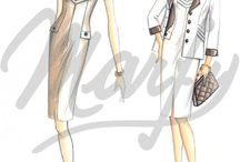 fashion sketsa