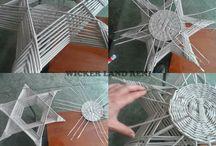 Pletení z papíru-postupy