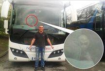 Mistero & Ufologia : Uomo fotografa un Alieno a bordo di un AutoBus.