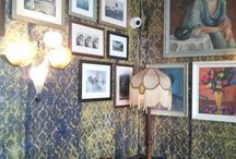 New Bloomsbury - Artful interiors / Images, paintings and items to inspire an eclectic decor / by Smiff Pack