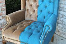 painting velvet furniture